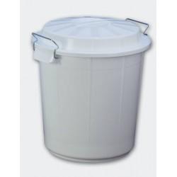 Cubo Industrial Blanco 50L