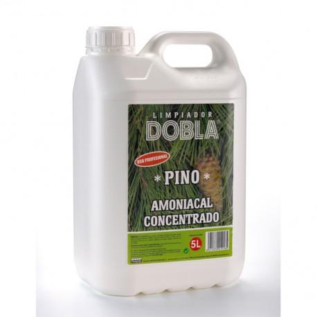 Limpiador Dobla Pino Amoniacal Profesional 5L
