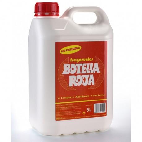 Fregasuelos Botella Roja Profesional 5L