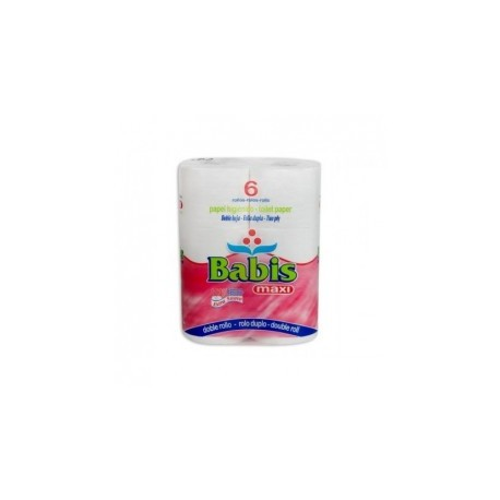 Higienico 6 Rollos Babis Maxi 35m 2H