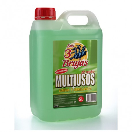 Multiusos Ph Neutro Las 3 Brujas Profesional 5L